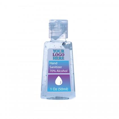 Custom Logo Sanitizer 1 oz Gel Bottles