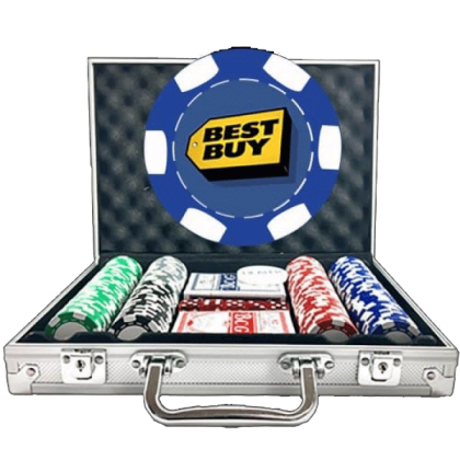 Premium Poker Chip Set - 6 Stripe