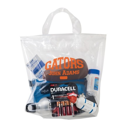 Crystal Clear Loop Shopping Bag - Customized