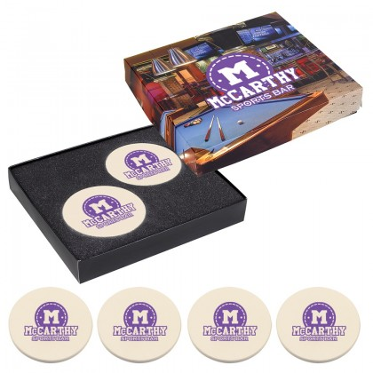 Premium Coaster Gift Set