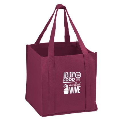 The Cube - Carry Out Tote Bag with Poly Board Insert