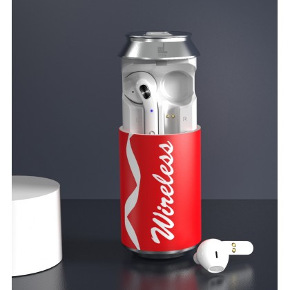 Custom Can Bottle Wireless Earbuds With Your Logo
