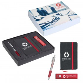 Executive Journal, Power Bank and Pen Gift Set