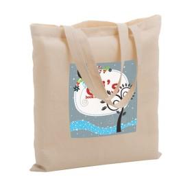 Cotton Canvas Tote Bags W/ Full Color Logo