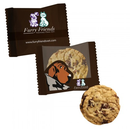 Large Chocolate Chip Cookie With Your Logo