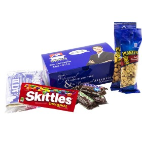 #MOVIESNACK MOVIE SNACK BOX WITH YOUR LOGO