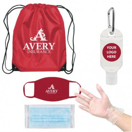 Keychain Sanitizer Mask Backpack Swag Bag