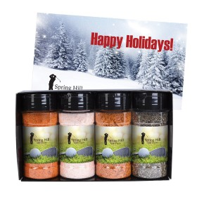 Spice-Shaker Gourmet Gift Set With Your Logo