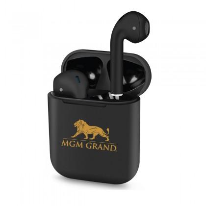 Luxury Custom Logo Wireless Earbuds - Charging Case