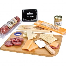 Meatcheese Set | Charcuterie Cutting Board With Meat & Cheese