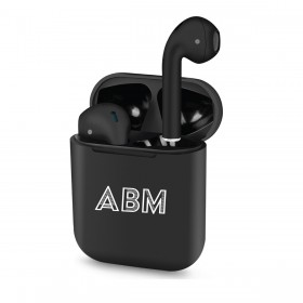 Personalized Luxury Custom Logo Wireless Earbuds - Charging Case