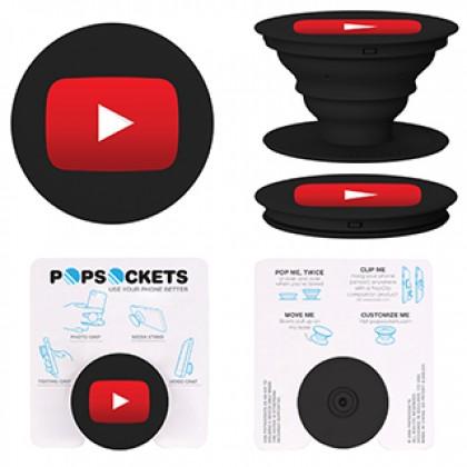 Custom Logo Official Popsockets - Black