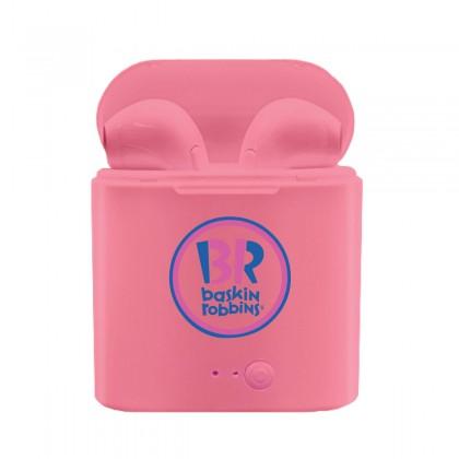 Pink Premium Wireless Earbuds