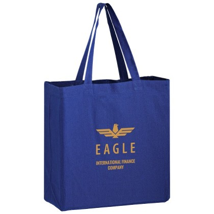 Color Cotton Canvas Custom Logo Tote Bags - 13 x 5 x 13