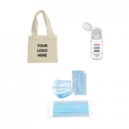 Essential Sanitizer Mask Swag Bag