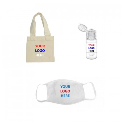 Sanitizer Mask Swag Bag - Full Color