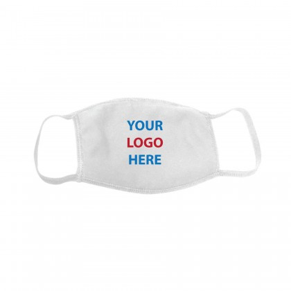 Custom Logo Reusable Face Masks - Printed In USA