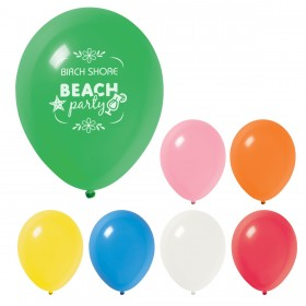"Custom Logo Party Balloons - 9"" - 11"""