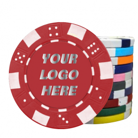 500 Hot Stamp Poker Chips
