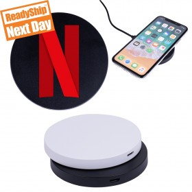 Custom Logo Qi Disc Wireless Charging Pad
