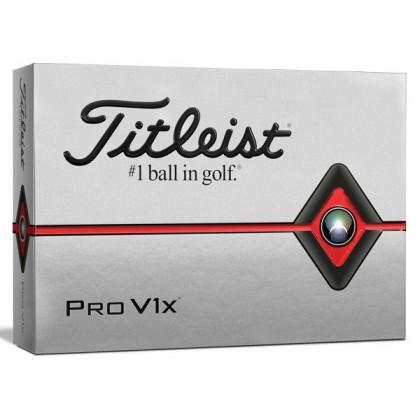 Titleist Pro V1x Logo Dozen Golf Balls