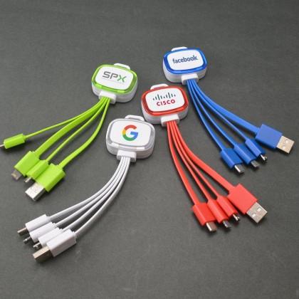 Custom Logo Adapter Cables - USB