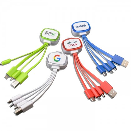 Custom Logo Adapter Cables - USB