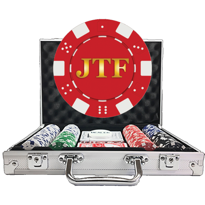 Dice Poker Chip Sets Personalized